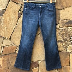 7 FOR ALL MANKIND A POCKET Women's Jeans Size 30